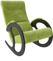 Кресло-качалка Импэкс 3 (венге/Verona Apple Green) -