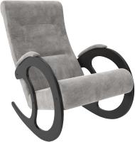 Кресло-качалка Импэкс 3 (венге/Verona Light Grey) -