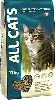 Корм для кошек All Cats Полнорационный для взрослых кошек (13кг) -