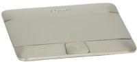 Блок розеточный Legrand 54020 (нержавеющая сталь) -