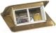 Блок розеточный Legrand 54016 (латунь) -