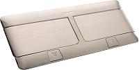 Блок розеточный Legrand 54022 (нержавеющая сталь) -