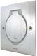Блок розеточный Legrand 89700 (нержавеющая сталь) -