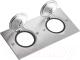 Блок розеточный Legrand 89702 (нержавеющая сталь) -