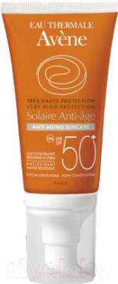 Крем солнцезащитный Avene SPF50+ антивозрастной (50мл)