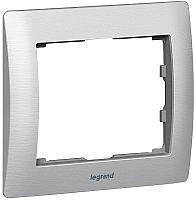 Рамка для выключателя Legrand Galea Life Metallic 771951 Brushed Aluminium -