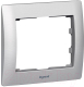 Рамка для выключателя Legrand Galea Life Metallic 771951 Brushed Aluminium -