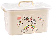 Ящик для хранения Полимербыт Радуга 81001 (бежевый) -
