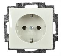 Розетка ABB Basic 55 2013-0-5339 (шале-белый) -