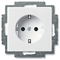Розетка ABB Basic 55 2013-0-5278 (белый) -