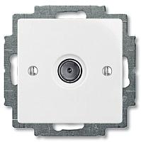 Розетка ABB Basic 55 1724-0-4276 (белый) -