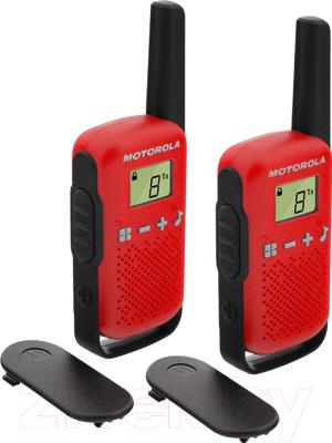 Комплект раций Motorola Talkabout T42 (красный)