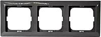 Рамка для выключателя ABB Basic 55 1725-0-1508 (шато-черный) -