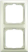 Рамка для выключателя ABB Basic 55 1725-0-1512 (шале-белый) -