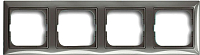 Рамка для выключателя ABB Basic 55 1725-0-1534 (серый) -
