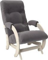 Кресло-глайдер Импэкс Глайдер 68 (дуб шампань/Verona Antrazite Grey) -