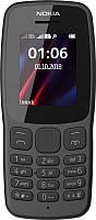 Мобильный телефон Nokia 106 2018 / TA-1114 (серый) -