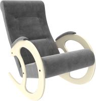 Кресло-качалка Импэкс 3 (дуб шампань/Verona Antrazite Grey) -