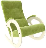Кресло-качалка Импэкс 3 (дуб шампань/Verona Apple Green) -