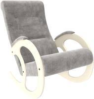 Кресло-качалка Импэкс 3 (дуб шампань/Verona Light Grey) -