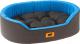 Лежанка для животных Ferplast Dandy 45 / 82941099 (черный/синий) -