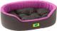 Лежанка для животных Ferplast Dandy 45 / 82941099 (черный/фиолетовый) -