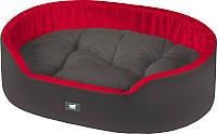 Лежанка для животных Ferplast Dandy 45 / 82941099 (черный/красный) -