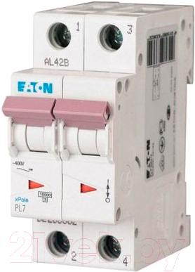 Выключатель автоматический Eaton PL7 2P 32A С 10кА 2М / 263362