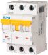 Выключатель автоматический Eaton PL7 3P 1А C 10кА 3M / 263403 -