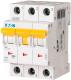 Выключатель автоматический Eaton PL7 3P 10A С 10кА 3М / 263407 -