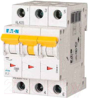 Выключатель автоматический Eaton PL7 3P 32A С 10кА 3М / 263412
