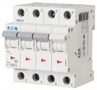 Выключатель автоматический Eaton PL7 4P 20A С 10кА 4М / 165179 -