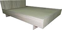 Двуспальная кровать Барро КР-017.11.02-19 160x190 (дуб сонома) -