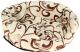 Лежанка для животных Happy Friends Ракушка №1 (белый шоколад) -