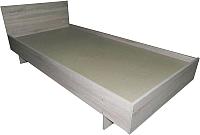 Полуторная кровать Барро КР-017.11.02-21 120x195 (дуб сонома) -