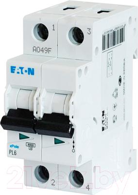 Выключатель автоматический Eaton PL6 2P 50А С 6кА 2M / 286572