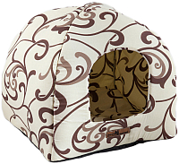 Домик для животных Happy Friends Домик белый шоколад -