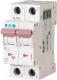 Выключатель автоматический Eaton PL7 2P 1A С 10кА 2М / 263353 -