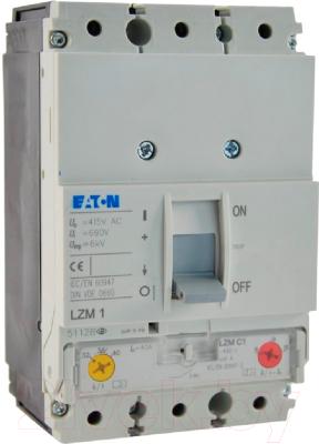 Выключатель автоматический Eaton LZMC1-A100-I 100А 1000А 3P 36кА / 111895