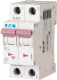 Выключатель автоматический Eaton PL7 2P 16A С 10кА 2М / 263359 -