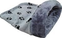 Домик для животных Happy Friends Лапки с окантовкой (серый) -