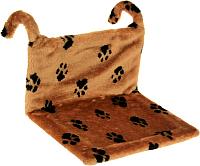 Гамак для животных Happy Friends Лапки stm 198 (коричневый) -