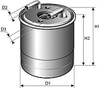 Топливный фильтр Purflux FCS785 -