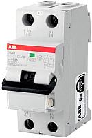 Дифференциальный автомат ABB DS201 1P+N C 10А 30mA 6кА 2М / 2CSR255040R1104 -