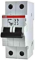 Выключатель автоматический ABB S 202 2P С 50А 6кА 2M / 2CDS252001R0504 -