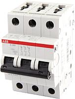 Выключатель автоматический ABB S 203 3P С 1А 6кА 3M / 2CDS253001R0014 -