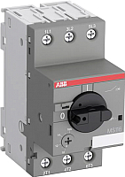 Выключатель автоматический ABB MS116-10.0 10А 4кВт 50кА / 1SAM250000R1010 -