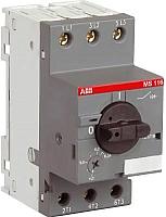 Выключатель автоматический ABB MS116-20 20А 9кВт 10кА / 1SAM250000R1013 -
