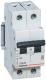 Выключатель автоматический Legrand RX3 2P C 20A 4.5кА 2M / 419698 -