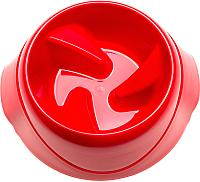 Миска для животных Ferplast Magnus Slow Medium / 71133099 (красный) -
